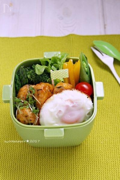 ふんわり白身魚揚げdeロコモコ丼~★