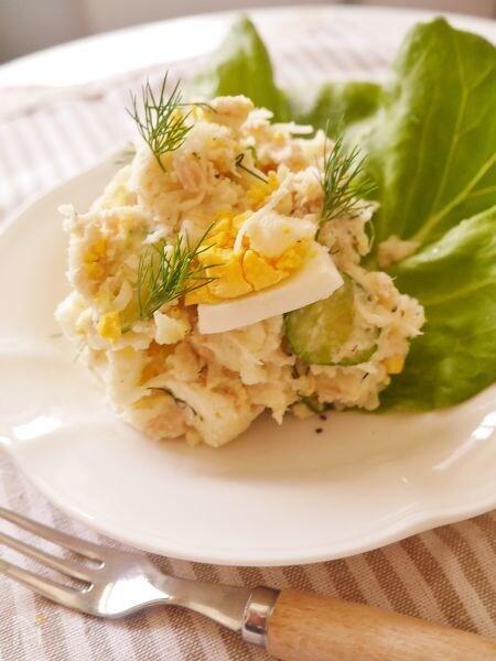 ツナと卵のポテトサラダ