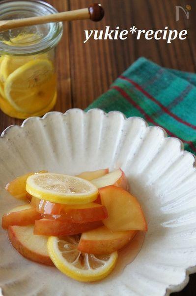 りんごのはちみつレモン煮