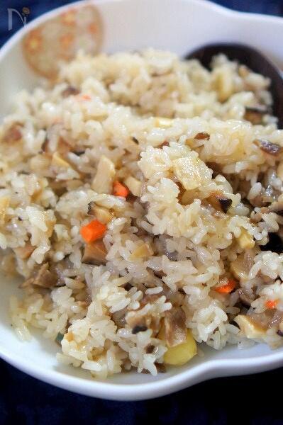 冷凍中華野菜ミックスで簡単中華おこわ