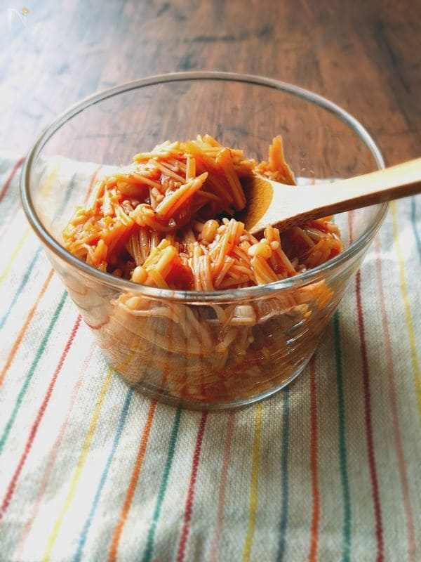常備菜にもおすすめ!なめ茸の作り方とアレンジレシピ12選の画像