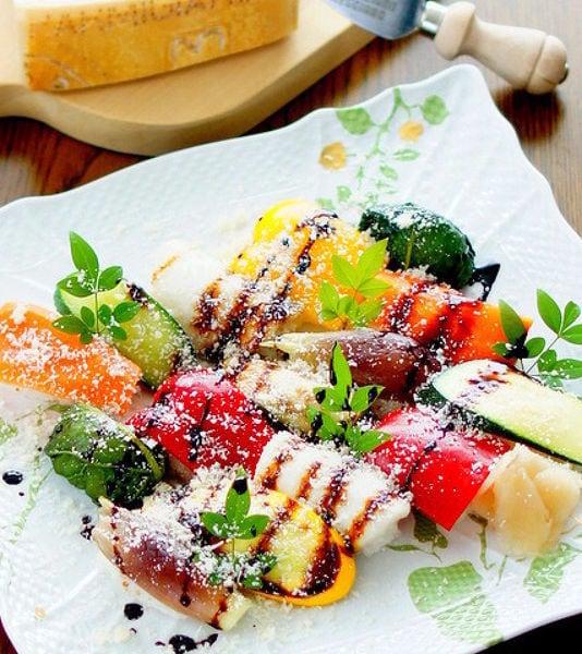 パルミジャーノご飯の野菜寿司