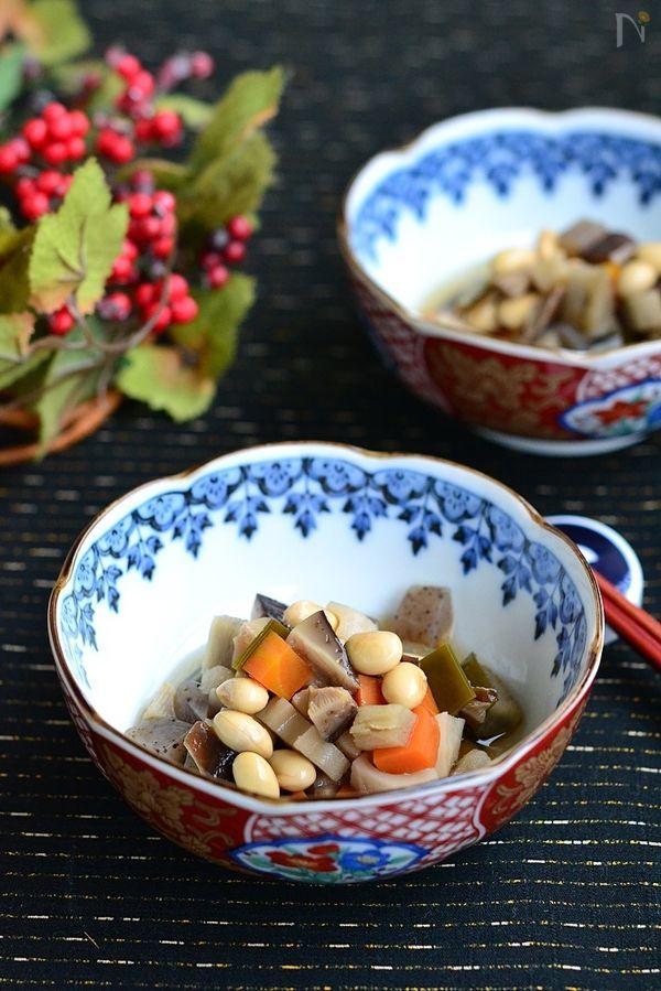 七品目の豆煮【作りおき】