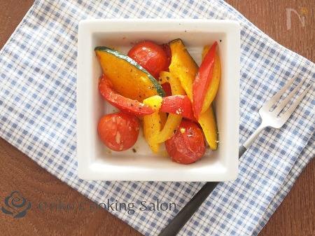 焼き野菜のマスタードマリネ
