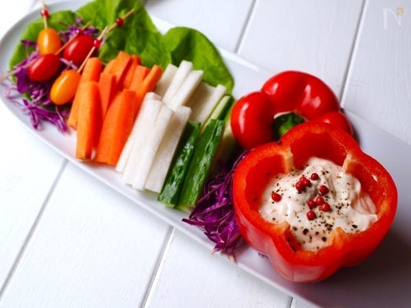 野菜スティックのディップソース13選!味噌やマヨで簡単アレンジ♪