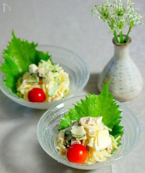 5. 柚子胡椒味の春雨サラダ