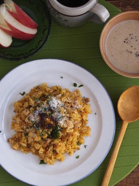 6. お野菜たっぷりカレーチャーハン