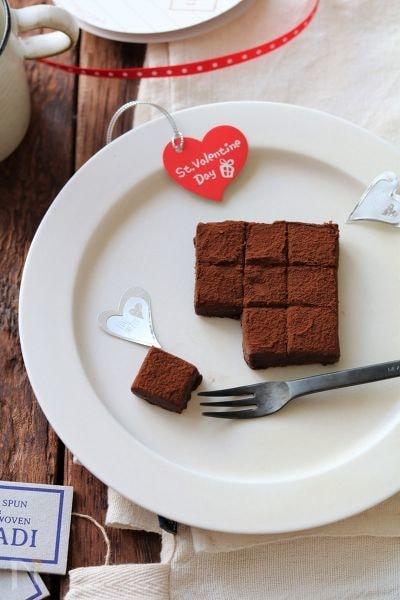 レンジで生チョコ