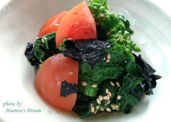 【簡単・時短】ブロッコリーと海苔胡麻和え