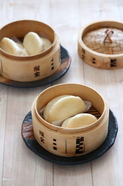 基本の中華まんの皮。(中華蒸しパン)
