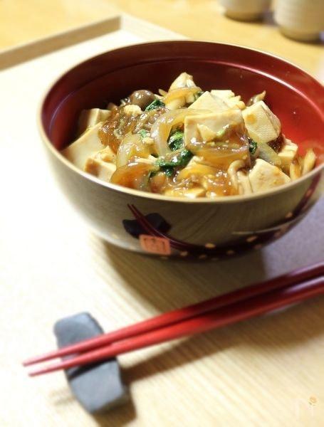 簡単麻婆豆腐