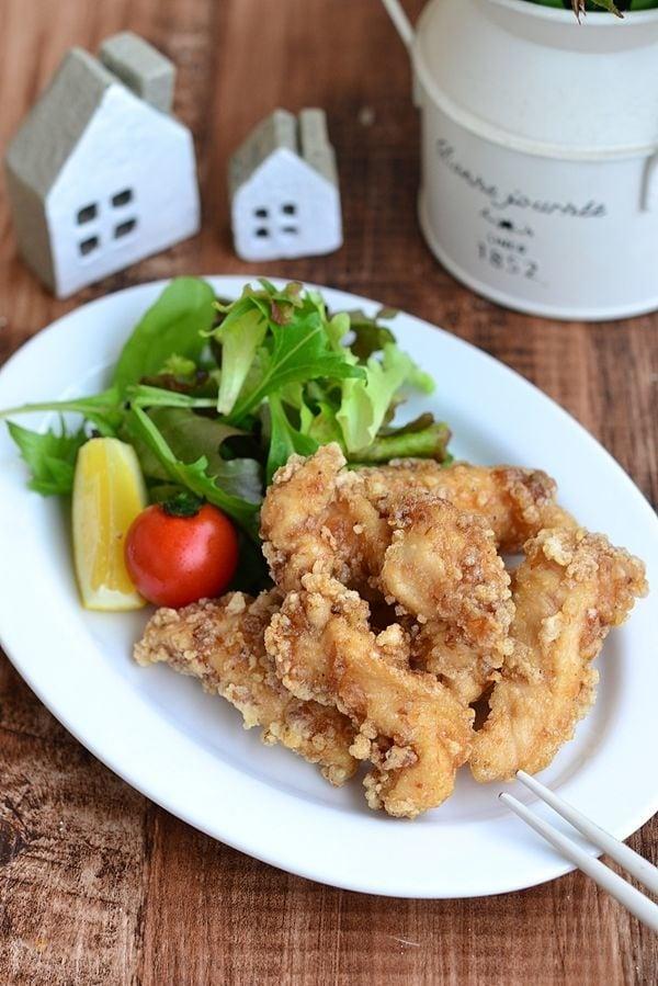 鶏むね肉の和風竜田揚げ【作り置き】