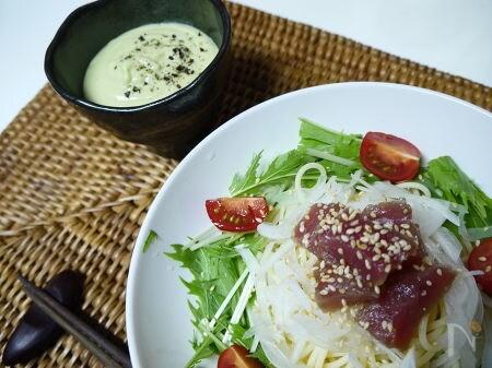 アボカドクリーミーつけ麺
