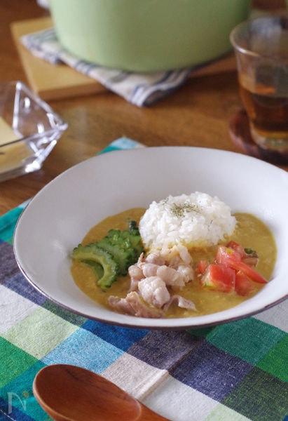 豚バラゴーヤココナッツ