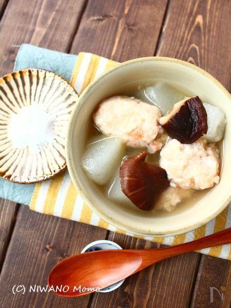 冬瓜と海老団子のスープ