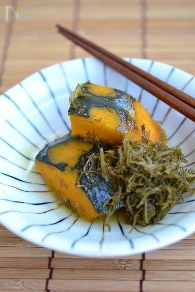 がごめ昆布きざみとかぼちゃ煮【作りおき】