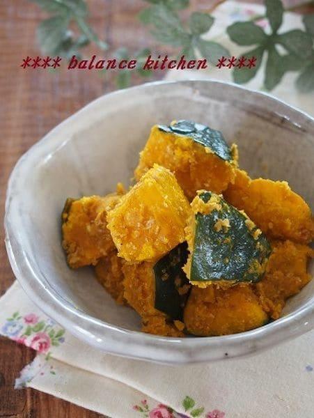 【お弁当おかず】冷凍可能  かぼちゃのさっぱりゴマ和え
