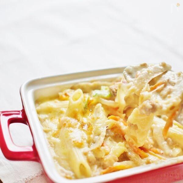 根菜の味噌グラタン