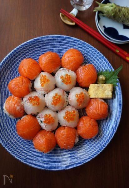 ひな祭りだってインスタ映え♪ひと口「手まり寿司」レシピ20選