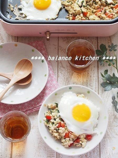 朝ご飯にも。野菜たっぷり!お豆腐ガパオ