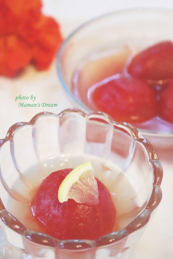 【時短・簡単】冷やしトマトの蜂蜜煮