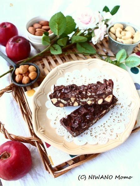 ナッツぎっしり! チョコレートグラノーラバー