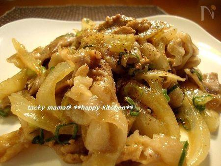 豚肉のピリ辛マヨ味噌炒め