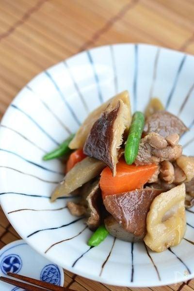 鶏ごぼうの煮物【作りおき】