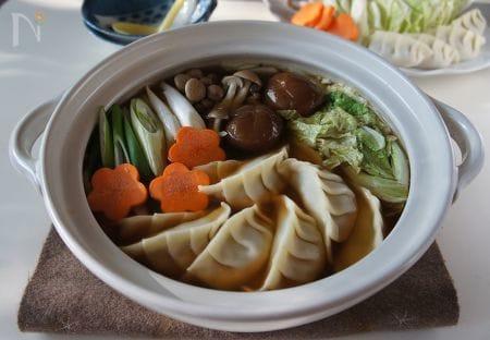 スタミナ満点☆餃子鍋