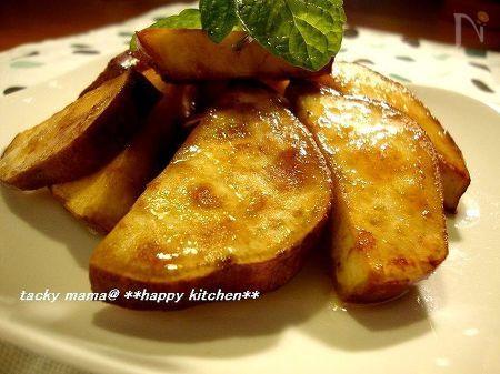 さつま芋の生姜醤油焼きはちみつがけ