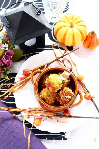 マッシュかぼちゃのちくわコロッケ