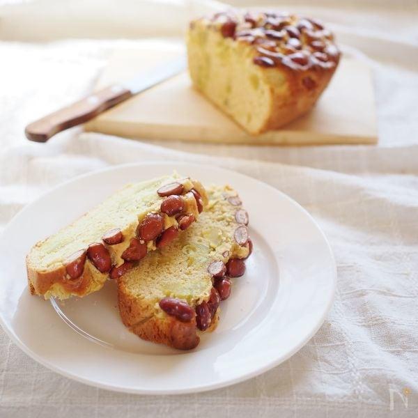 金時豆とさつま芋のケーキ