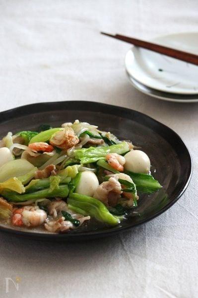6.春キャベツの八宝菜