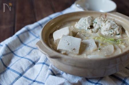 豆乳鍋の写真