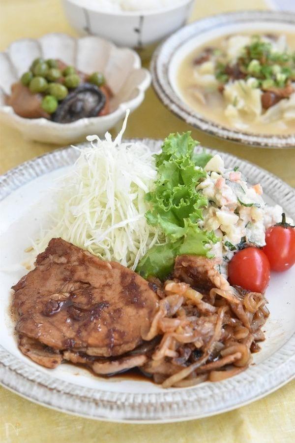 黄金比!!豚ロース肉の生姜焼き