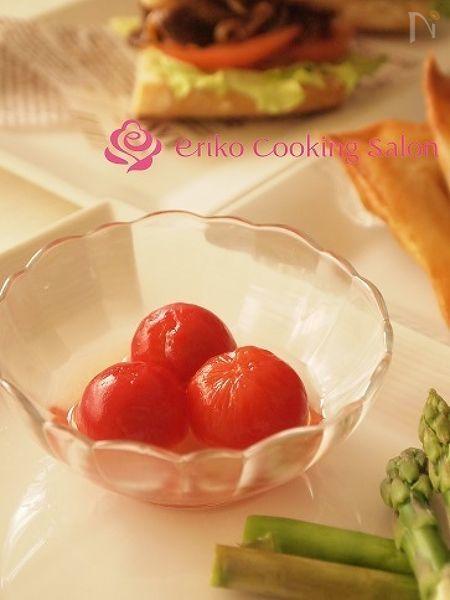 簡単プチトマトの甘酢マリネ