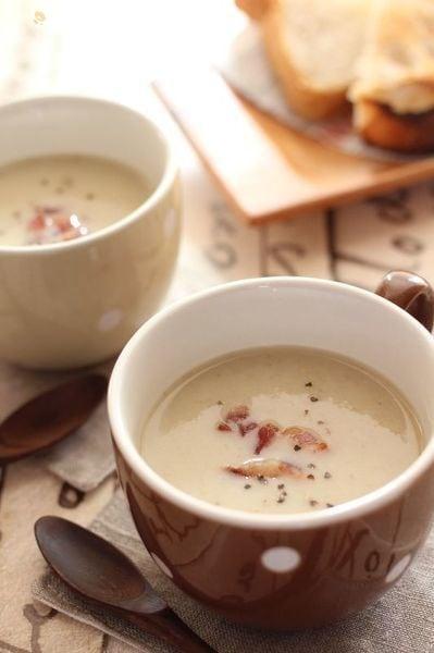 ごぼうとじゃがいものポタージュスープ