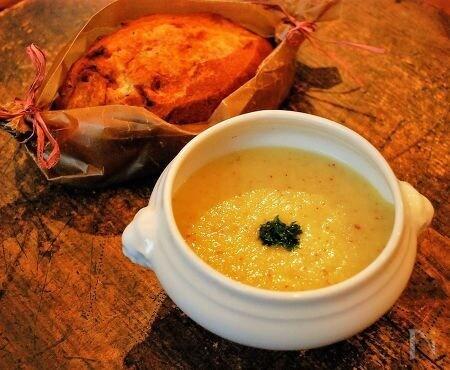 さつま芋と大根の優しいスープ