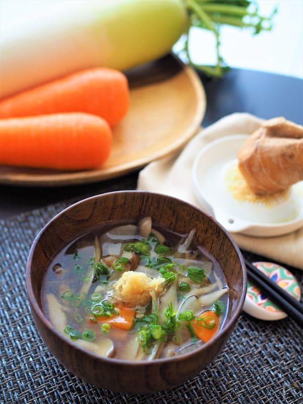 【スープ】根菜スープ