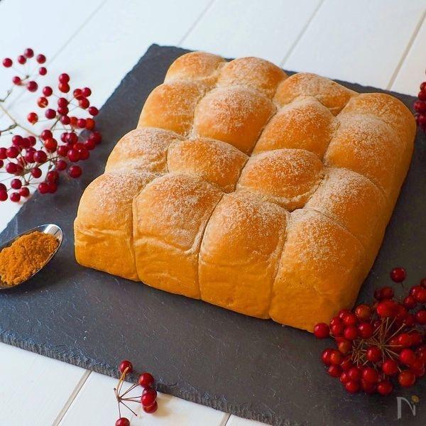 3.黒糖ちぎりパン