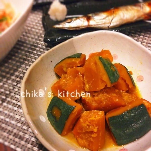 甘くてねっとり美味しい♪我が家の黄金比\u203c  かぼちゃの煮物♡
