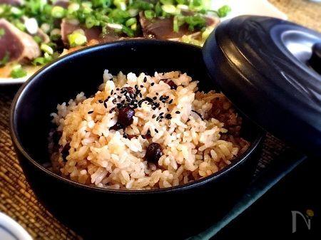 小豆ご飯の写真