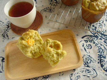 アボカドとチーズのお食事マフィン。
