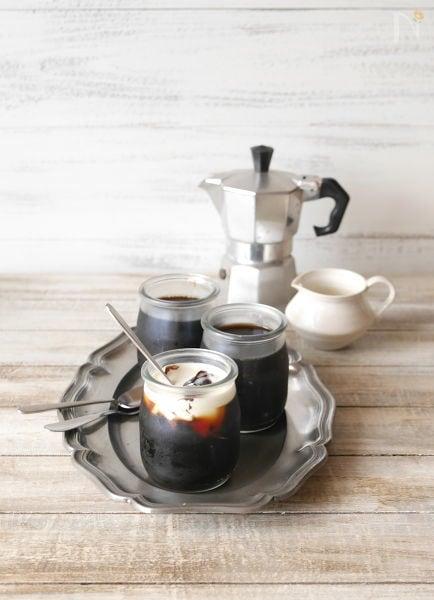 ふるふるコーヒーゼリー