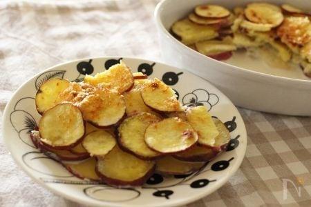 オーブントースターなしで作れるドフィーネ風グラタン