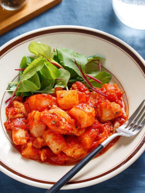 鶏大根のトマト煮【#作り置き #お弁当 #簡単 #時短】