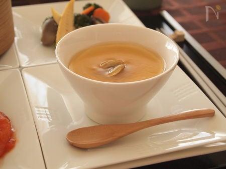 中華風あさりのあんかけ茶碗蒸し