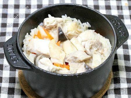 おひとり様の鶏釜飯