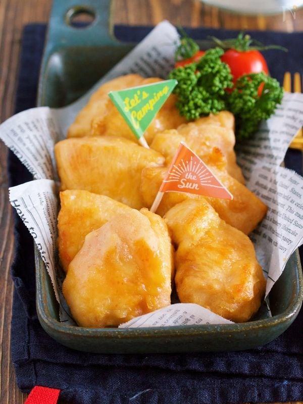 むね肉 de 中津風♡焼き唐揚げ【#トースター#作り置き】