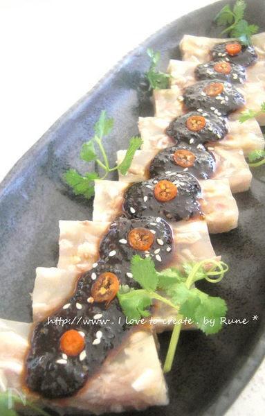 豚足の前菜